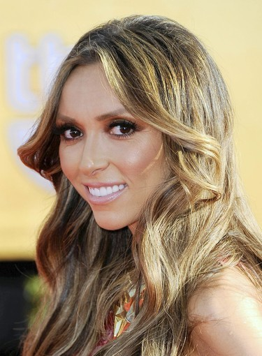 TV personality Giuliana Rancic at the 18th Annual Screen Actors Guild Awards at The Shrine Auditorium on Jan. 29, 2012 in Los Angeles, Calif.
