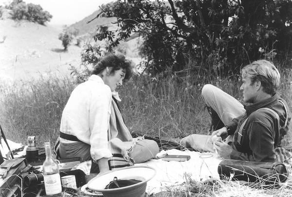 Kenya is the backdrop for Meryl Streep and Robert Redford in Out of Africa.