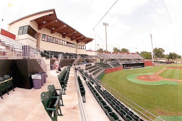 Melching Field at Conrad Park is a dandy place to enjoy baseball in DeLand.