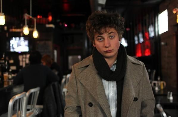 """Shameless"" actor Jeremy Allen White at Lockdown Bar and Grill Feb. 15, 2012."