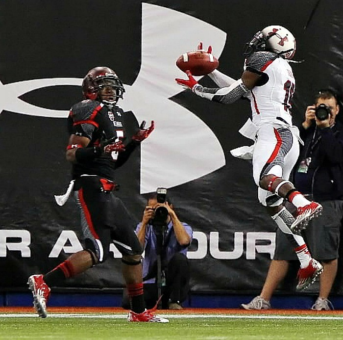 This touchdown catch by Marvin Bracy of Boone High earned the Under Armour All-American a No. 3 spot on ESPN's Top 10 plays of the day.