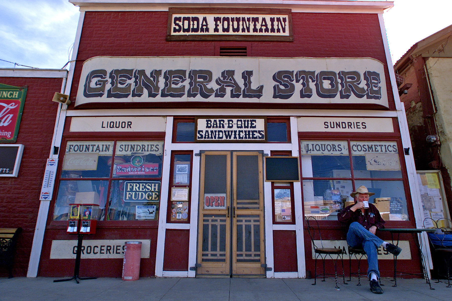 The General Store was established in Randsburg, Calif., around 1896, just months after the discovery of gold in the town.