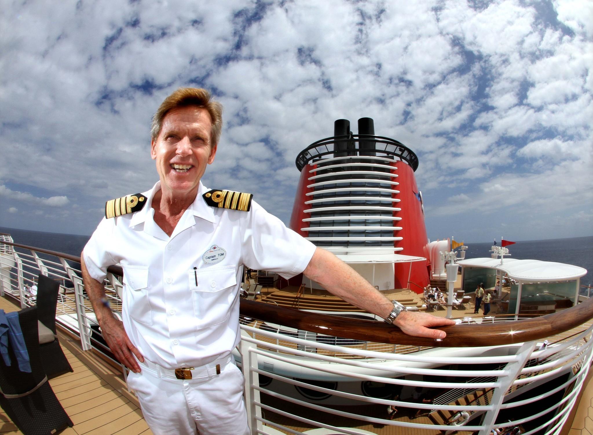 Disney Fantasy Captain Tom Forberg On Disney Fantasy - How much does a cruise ship captain make