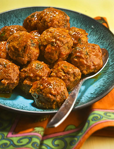 Moroccan feast: The meal would have been enough even without Moroccan meatballs, above, with the slowly unrolling flavor of liver.