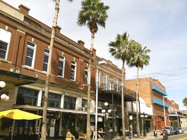 The streets in Tampa's Ybor City echo with a rich -- and sometimes sordid -- history.