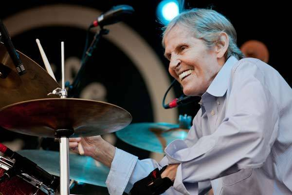 Levon Helm performs at the 2011 Life is Good Festival at the Prowse Farm on Sept. 25, 2011 in Canton, Mass.