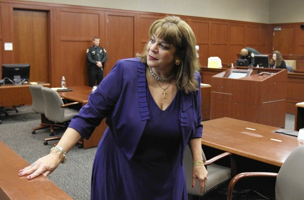 State Attorney Angela Corey in Circuit Judge Kenneth Lester's courtroom during George Zimmerman's bond hearing Friday. (Gary W. Green/Orlando Sentinel)