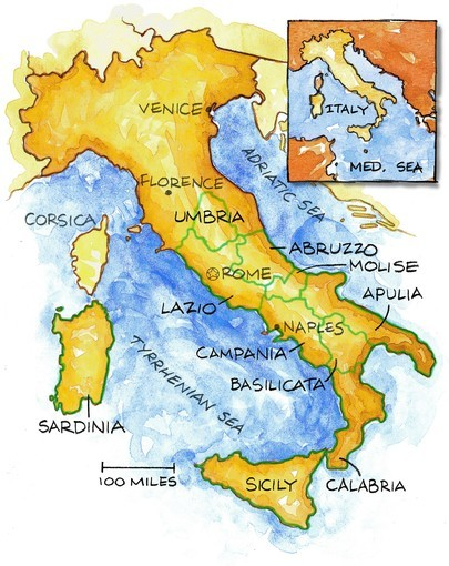 Though southern Italian names and wines are unfamiliar to us, they are Italy's best combination of skilled winemaking, big flavor and low price.