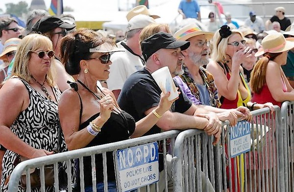 Stay hydrated and have a plan are 2 tips for enjoying festivals, such as  the New Orleans Jazz & Heritage Festival.