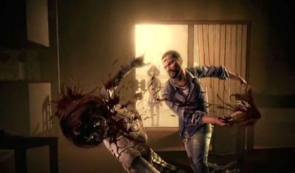 "A screenshot from ""The Walking Dead: Episode 1."""