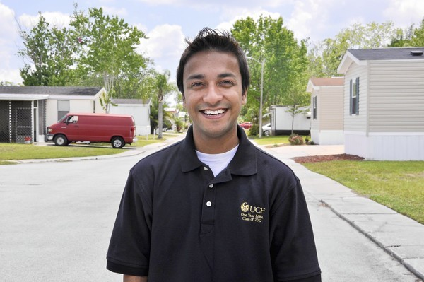 Pranav Garg, 24, graduating with a master&#039;s in business administration from UCF, said he is confident of landing a job in finance making at least $60,000 a year.