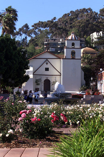 San Buenaventura Mission has been a focal point of the Ventura area since 1782