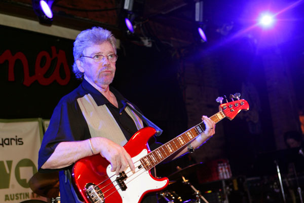 "Donald Duck Dunn played bass as a studio musician on more songs than one can easily count, but he's probably most famous for playing himself in The Blues Brothers.  ""Duck"" died at the age of 70."
