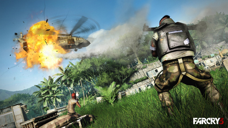 "A still from the upcoming ""Far Cry 3."""