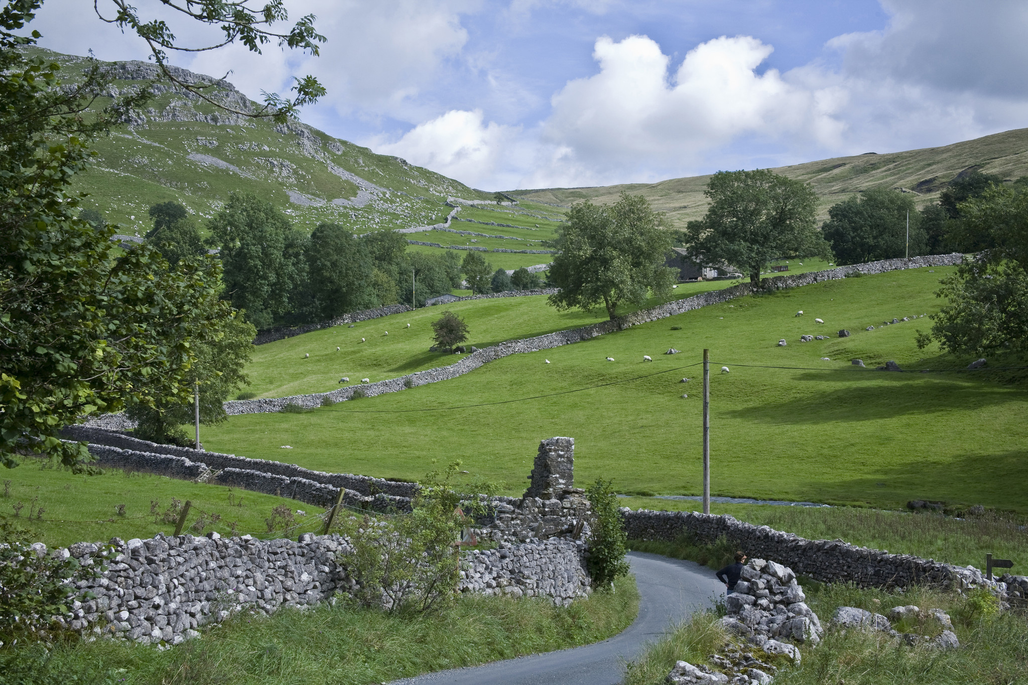 Englands green and pleasant land is a balm for travelers following country roads.