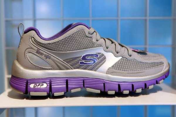 The federal government says Manhattan Beach-based Skechers made false claims regarding its line of toner shoes, including those pictured here.
