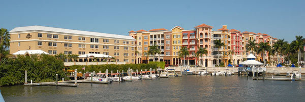 The 91-room Bayfront Inn 5th Ave. in Naples is located on the waterfront downtown.