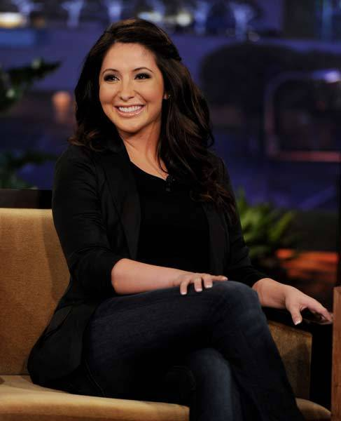Bristol Palin appears on The Tonight Show with Jay Leno.