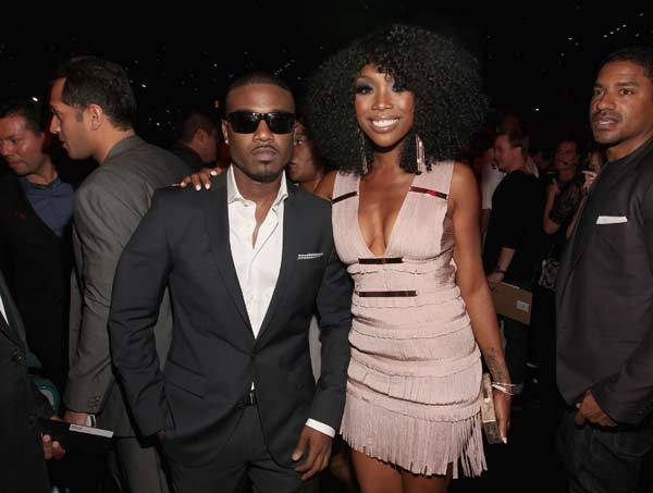 Ray J and singer Brandy attend the 2012 Billboard Music Awards.