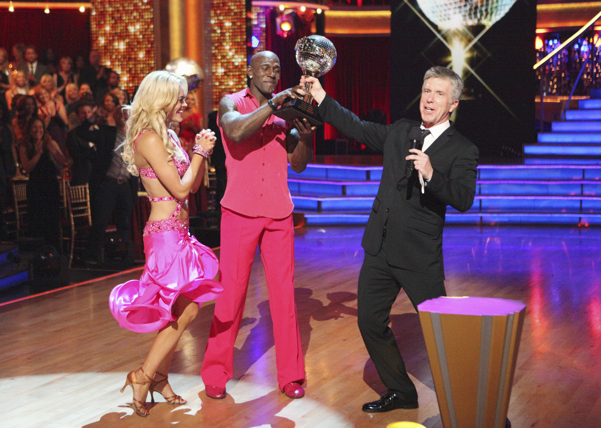 "After 10 weeks of performances, Donald Driver and Peta Murgatroyd were crowned ""Dancing with the Stars"" champions on Tuesday night."