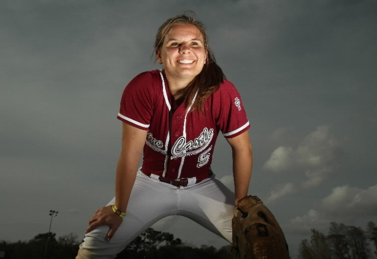 All-Central Florida softball Player of the year is Emily Carosone - tribunedigital-orlandosentinel