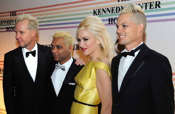 No Doubt arrive on the red carpet for the Kennedy Center Honors at the Kennedy Center in Washington.