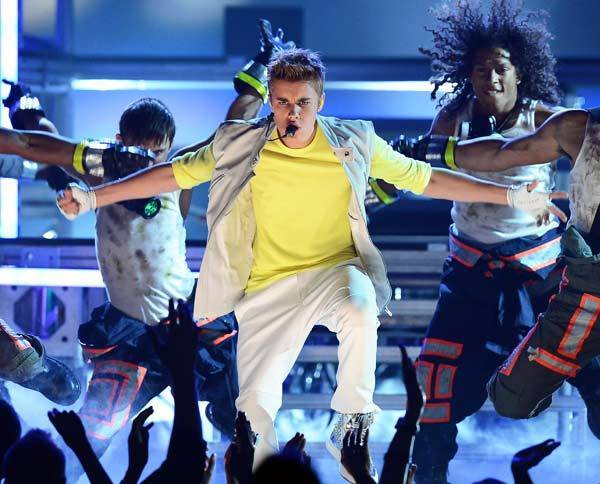Singer Justin Bieber performs during the Billboard Music Awards at the MGM Grand Garden Arena May 20, 2012 in Las Vegas, Nevada.