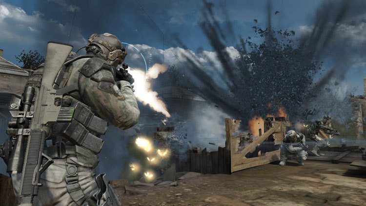 "A scene from ""Tom Clancy's Ghost Recon: Future Soldier."""
