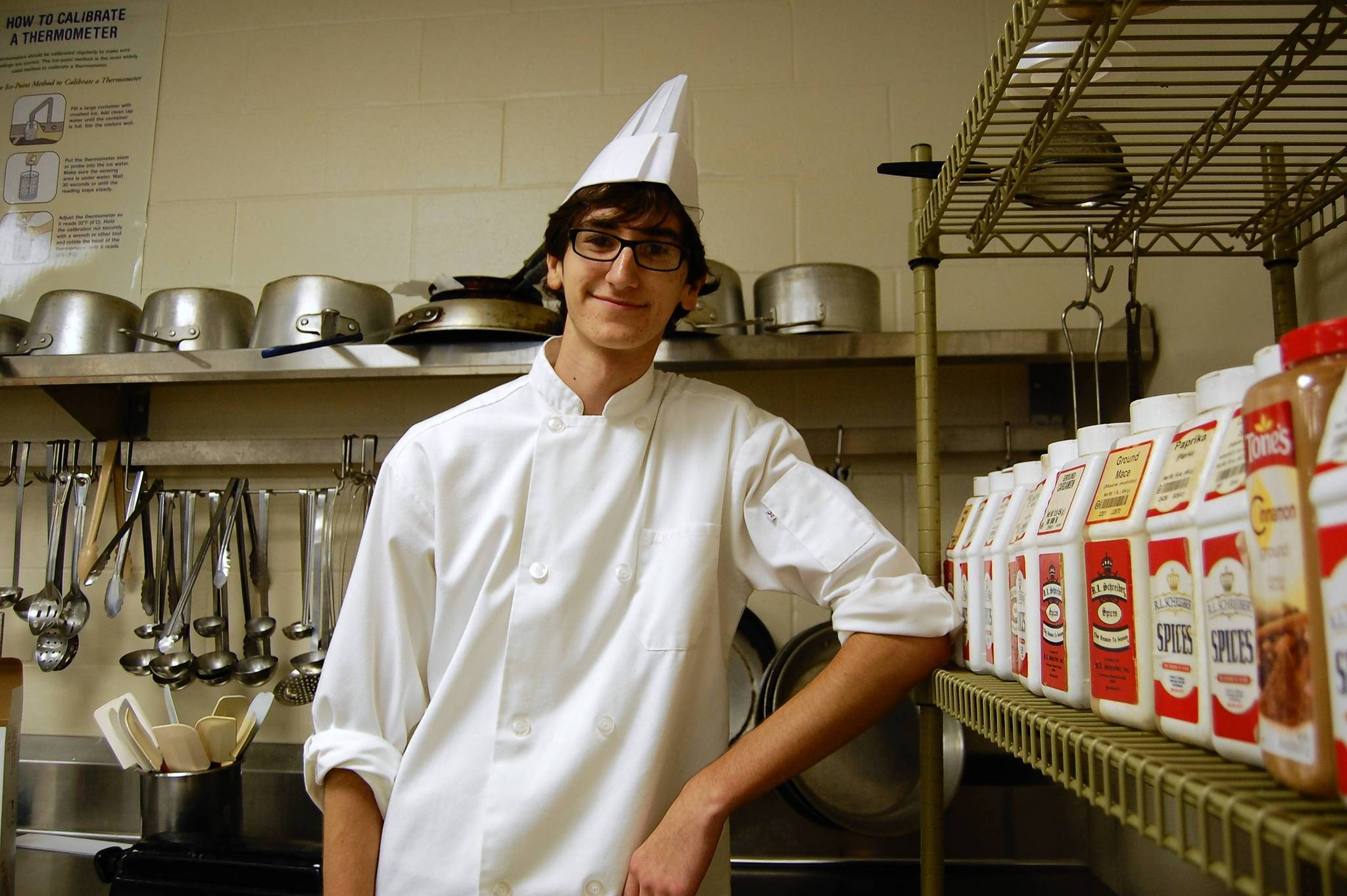 Tim Norton, 18, will graduate from Tavares High School this weekend and plans to study culinary arts in the fall.