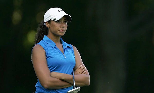 Cheyenne Woods earned her spot shooting a 2-over 146 in a 36-hole qualifying tournament at the Carolina Trace Country Club in Sanford, N.C. on May 31.
