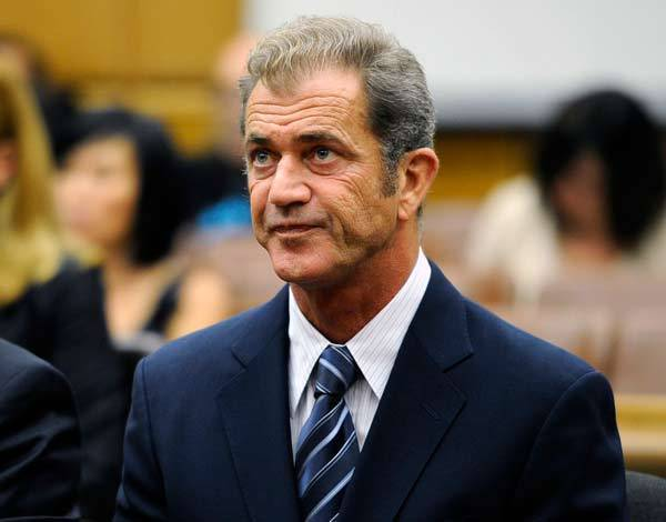 Actor Mel Gibson attends a hearing in Los Angeles Superior Court to finalize financial issues in a custody battle.