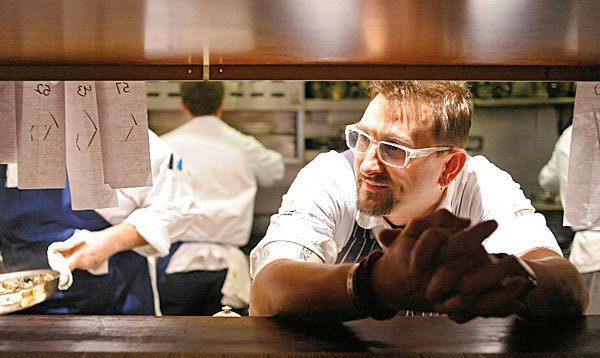 Chris Cosentino is executive chef at the Italian restaurant in San Francisco and chef/co-founder of Boccalone, which makes astisan salumi.
