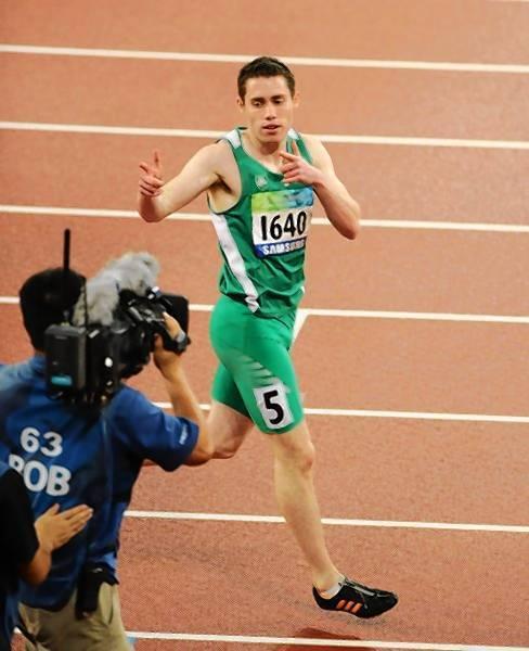 Runner Jason Smyth.