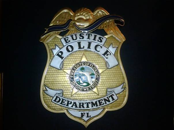 Eustis Police Department badge.