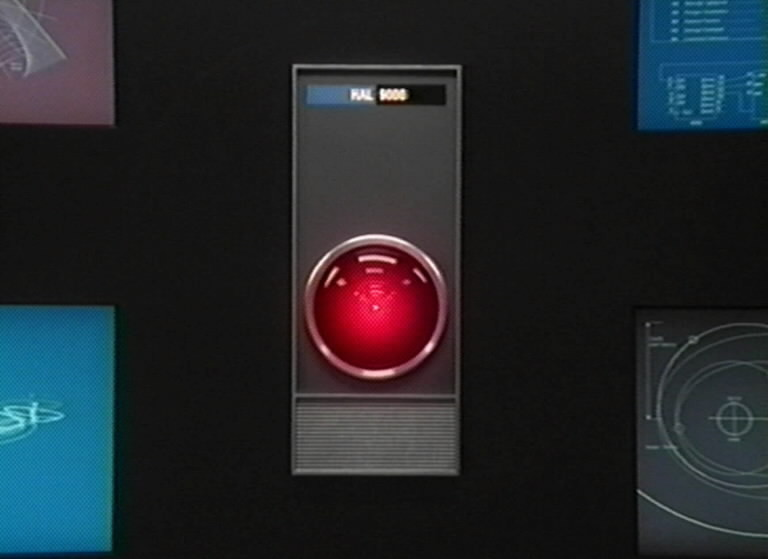 """HAL, the computer from the Stanley Kubrick movie classic """"2001: A Space Odyssey."""