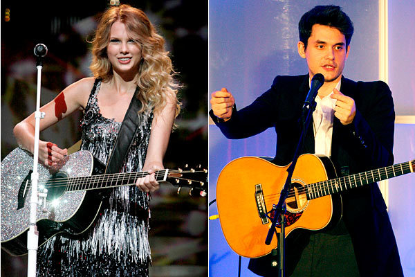 """In a track off of John Mayer's """"Battle Studies"""" album called """"Half of My Heart,"""" the two guitarists rock a duet. Taylor Swift's time on the track was sadly limited, but the two had teased it weeks prior to release on Twitter."""