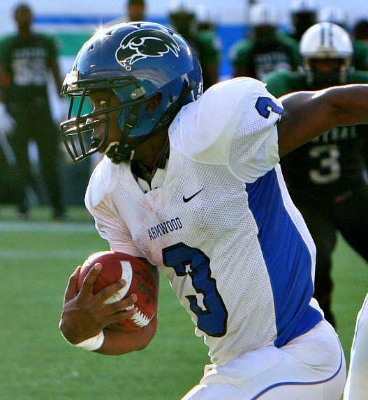 WR Alvin Bailey of Seffner Armwood is one of the top prospects in the state of Florida for the Class of 2013.