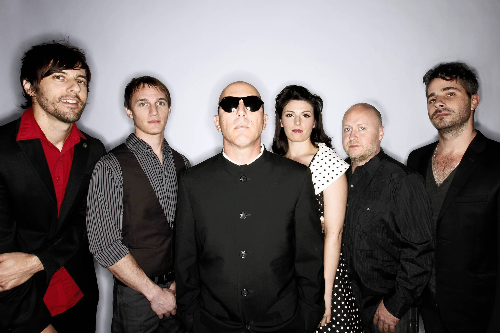 Puscifer, featuring singer Maynard James Keenan, center, will perform Wednesday, June 13, at Hard Rock Live.