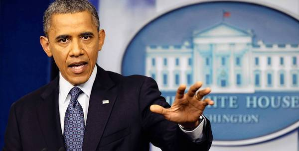 "President Obama's remark at a news conference that the private sector is ""doing just fine"" set off a flood of criticism and ridicule from Republicans."