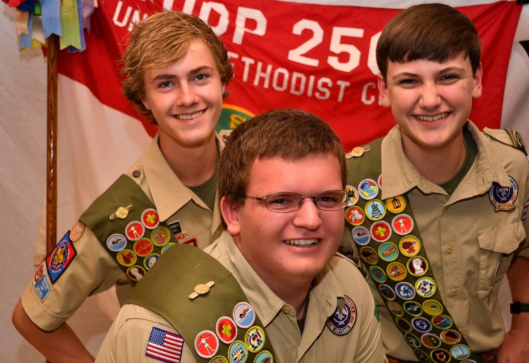 From left, Stephen Muennich, Shawn Belton and Erik Jauschneg.