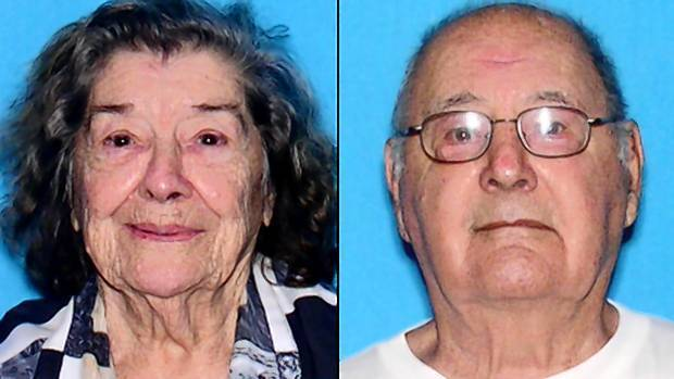 Angelo Joseph Virgona, 90, and his wife, Mary V. Virgona, 89, haven't been seen since Sunday.