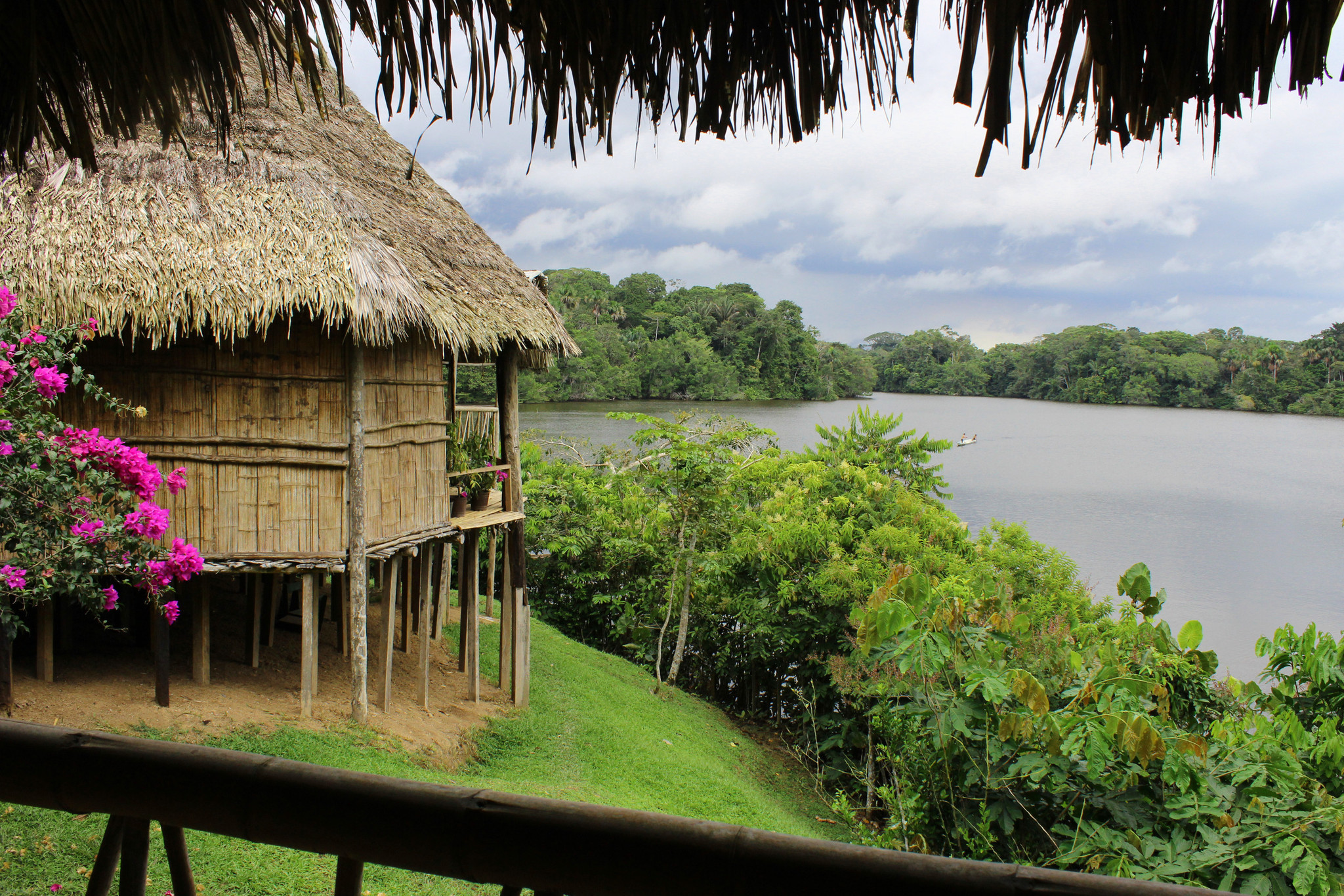 La Selva Lodge is located in eastern Ecuador.
