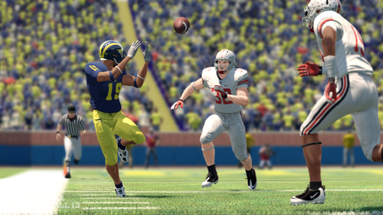 "The focus of ""NCAA Football 13"" seems to have veered toward single-player quests for stardom, away from the magic of team rivalries and traditions like Ohio State-Michigan."