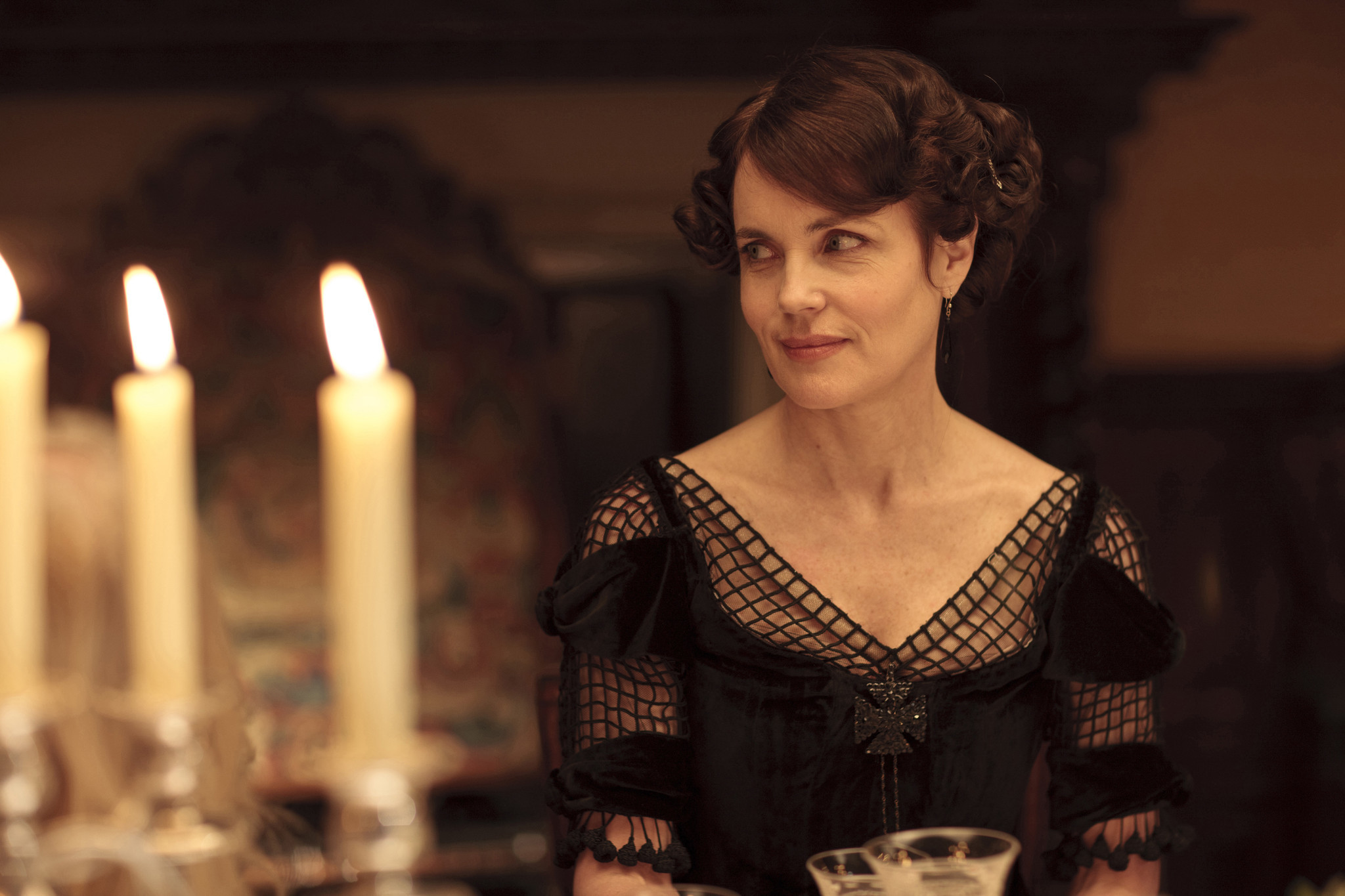 """ELIZABETH McGOVERN, who plays Countess Cora, says of next season: """"I promise you there will be fireworks."""""""