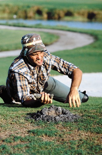 Bill Murray as Carl Spackler in Caddyshack.