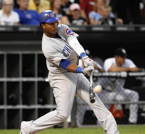 Starlin Castro cranks a two-run homer in the fifth inning.