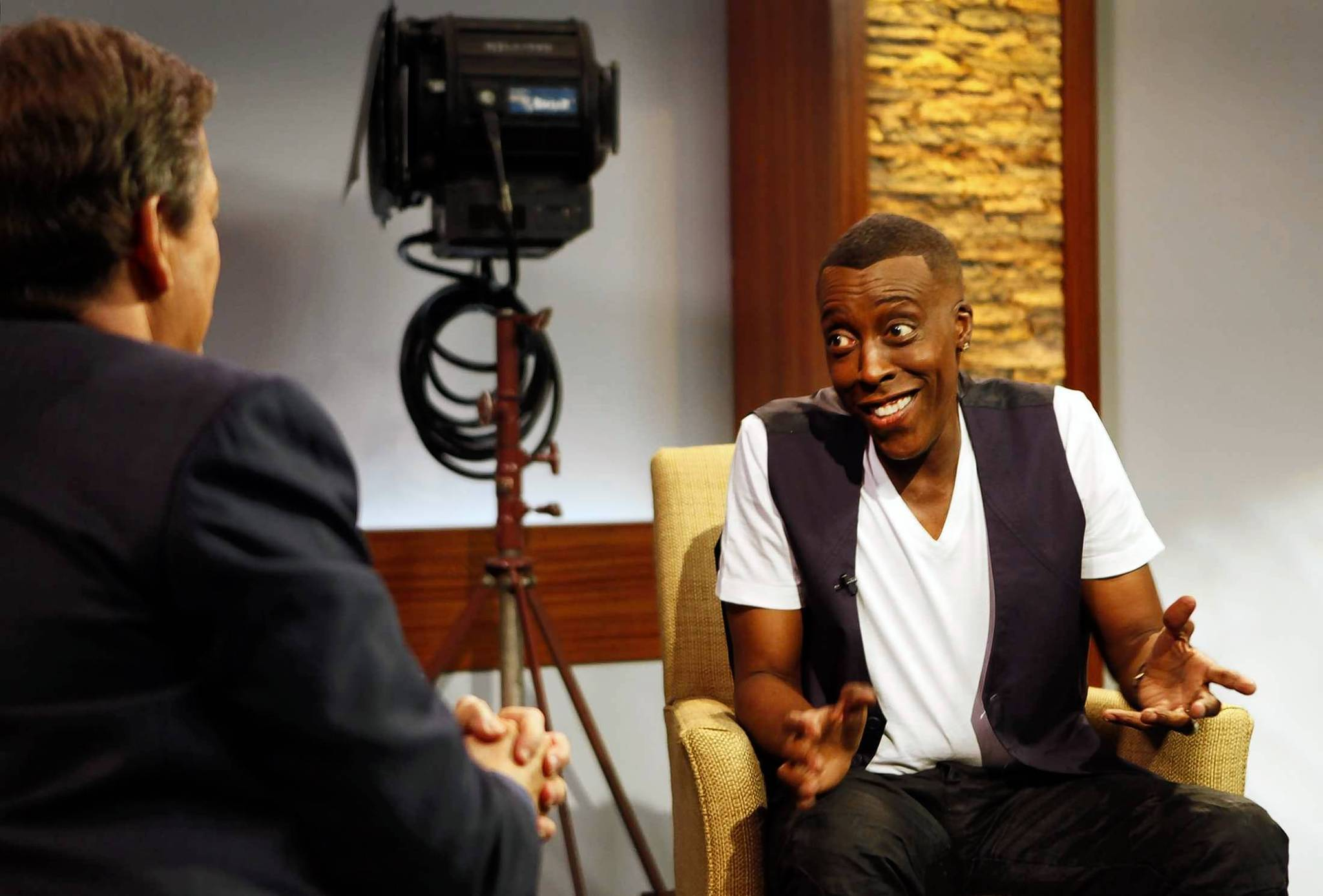 Arsenio Hall talks about his new late-night show.