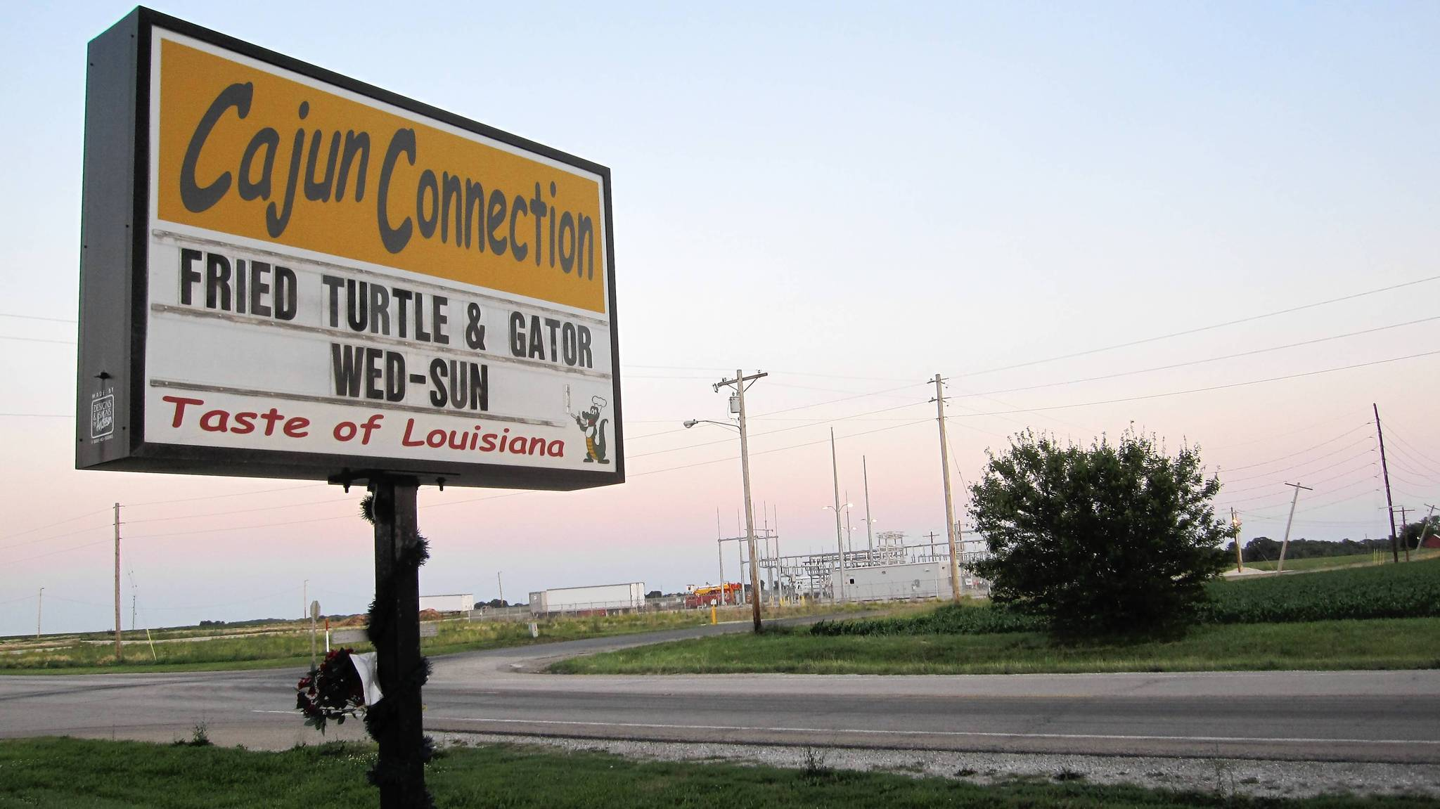 Cajun Connection in North Utica, Ill.