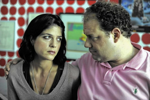 "Selma Blair and Jordan Gelber star in ""Dark Horse."""