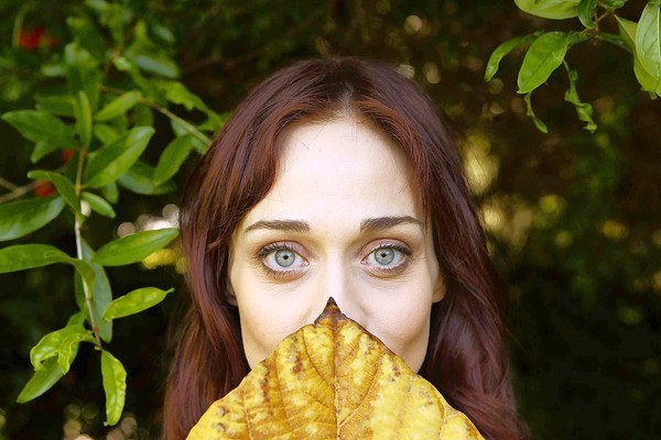 Fiona Apple in Beverly Hills.